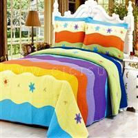Buy cheap Water ripple Patchworks quilt set from Wholesalers