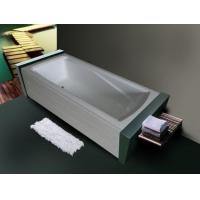 Double skirts bathtub