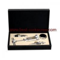 Buy cheap wine sets leather box from Wholesalers