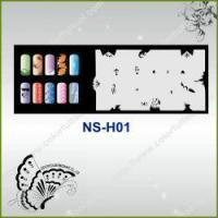Quality Airbrush Nail Stencil Model No.: NS-H01 for sale
