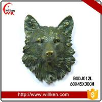 China Animal Statues Wall mounted polyresin decorative artificial eagle on sale