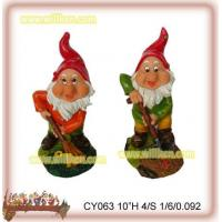 Buy cheap CY063 Garden gnome with tools from wholesalers