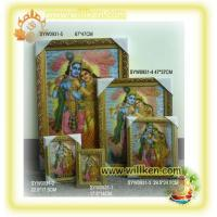 Buy cheap SYW0927 3D Hindu god picture frame(Rodha Krishna) from wholesalers