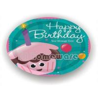 Quality Birthday series YRPP2003 Printed paper plate for sale