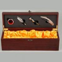 Buy cheap Deluxe Wine  Box with Accessories from Wholesalers