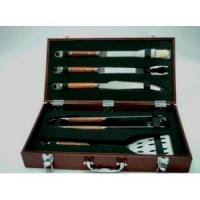 Buy cheap 5-PCS FORGED BBQ TOOL SET from Wholesalers
