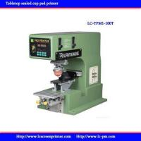 Quality LC-TPM1-100T Tabletop sealed cup pad printer for sale