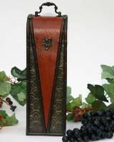 Buy cheap Rich Contrast Wood Wine Box from Wholesalers