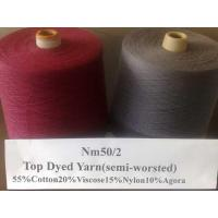 Semi-worsted yarn LH-6