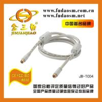 China B-TC041 TV Coaxial RF Cable(F TV/M-9.5TV/M) on sale