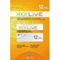 Quality Microsoft Xbox Live 12 Month Gold Subscription Card for sale