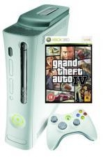 Buy Microsoft Xbox 360 Premium Console with 60GB HDD and Grand Theft Auto 4 at wholesale prices