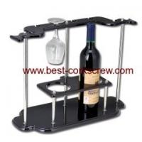 Quality wine holder corkscrew and bottle rack XH4605 for sale
