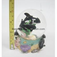 Buy cheap polyresin/polystone dolphin snowball,snow globe from wholesalers