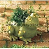 Quality polyresin garden frog,frog crafts,garden frog for sale