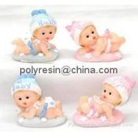 Quality poly-resin baby decor,baby figurine,baby figure for sale