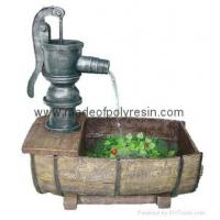 Quality polyresin outdoor fountain,garden fountain,pump fountain for sale