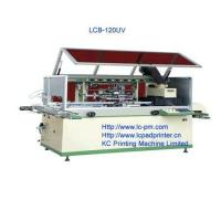 Quality One colour Plastics bottle full automatically screen printer for sale