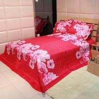 Quality 3PCS Printed patchwork quilt set for sale