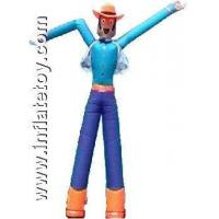 Quality Inflatable Bouncers air dancer with two legs for sale