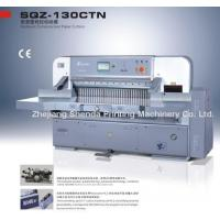 Quality Paper Cutting Machine (QZYK-137CT) for sale