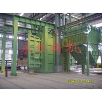 Quality Automatic molding machine Through type abrade cleaning up machine for sale