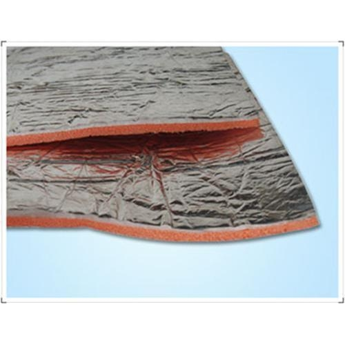 Fire retardant al xpe heat insulation sheet of vvgretchen618 for Fire resistant insulation material