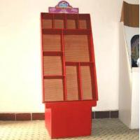 Quality Corrugated carton display stand for sale