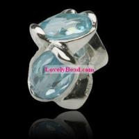 China Silver CZ beads SCB01809 on sale
