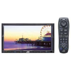China JVC KW-AVX710 7-Inch In-Dash Double-DIN CDDVDMP3iPod Bluetooth-Ready Touchscreen Receiver