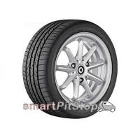 Quality 15'' 9-spoke alloy wheels, Design 2 (Silver) for sale