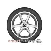 Quality 15'' 3-Double Spoke Alloy Wheels, Design 8 (Silver) for sale
