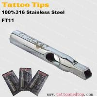 Quality Tips top premade 316 stainless tattoo tip for sale