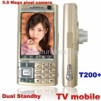 Buy cheap T200+ Dual SIM TV Mobile Phone with 5Mpx Flexcable Camera from wholesalers