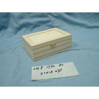 Buy cheap WOODEN BOXS Wooden BoxModel:CH.F1732 PCSSpecification:21x15x H7.5 cm Model :CH.F1732 PCS  Specification :21x15x H7.5 cm from Wholesalers