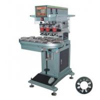 Quality Automatic tri-color wheel and seat pad printer for sale