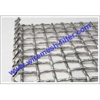 Hookstrip Flat Screen Crimped Wire Mesh Crimped Wire Mesh