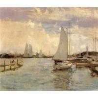 Quality Impressionist(3830) Gloucester_Harbor for sale