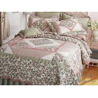 Buy cheap Handicraft patchwork bedding from Wholesalers