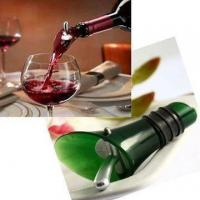 Buy cheap Funnel Wine Pourer Top Decanter Dumping Stopper from Wholesalers