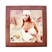 Sublimation Tile & Plates Porcelain Photo Frame (15.2 15.2cm)Details