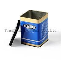 Buy cheap Food packing boxes Tea Tin(ZS087A1) from Wholesalers
