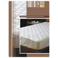 Quilt & Pillow Microfibre filled Mattress Protector with PU Lamin