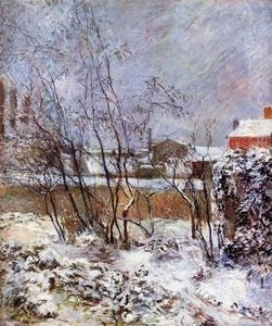 Buy Impressionist(3830) Snow, Rue Carcel at wholesale prices