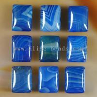 Quality Blue Onyx Agate Puffy Rectangle for sale