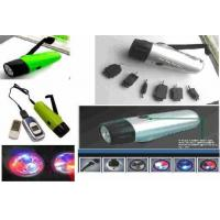 Quality Flashlight / (Hand Power) SOS Alarm Charger Flashlight for sale