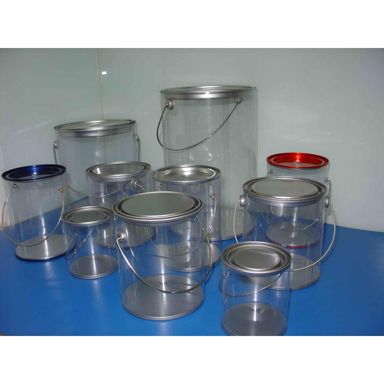Buy cheap Clear Paint Can,PVC Buckets from Wholesalers