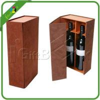 Buy cheap Wine Boxes Item:2 Bottles Glass Storage Gift Boxes for Wine from Wholesalers