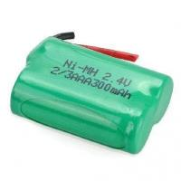 Quality 2/3AAANiMHBatteryPack2.4V300mAh2S1P Ni-mh Battery-China Chineng for sale