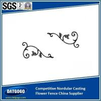 Quality Nodular Cast Iron Competitive Nordular Casting Flower Fence China Supplier for sale